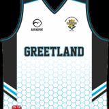Greetland Girls Basketball Vest White
