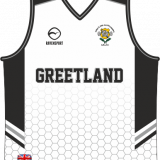 Greetland Basketball Vest White