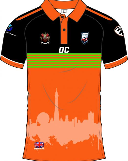 Blackpool Masters Polo 1 Front