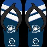 Brotherton Bulldogs Junior Flip Flops