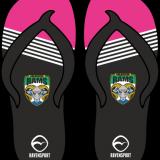 Arlecdon Masters Flip Flops – Pink