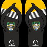 Arlecdon Masters Flip Flops – Amber