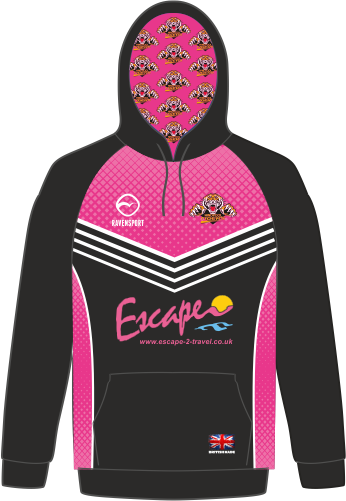 Hoody Pink - Front