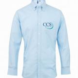 CCS Media Long Sleeve Oxford Shirt