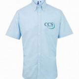 CCS Media Short Sleeve Oxford Shirt