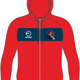 Methley Warriors Masters Junior Zipped Hoody – Red