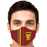 Wigan St Judes Face Mask