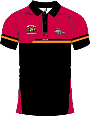 Shaw Cross Polo Front